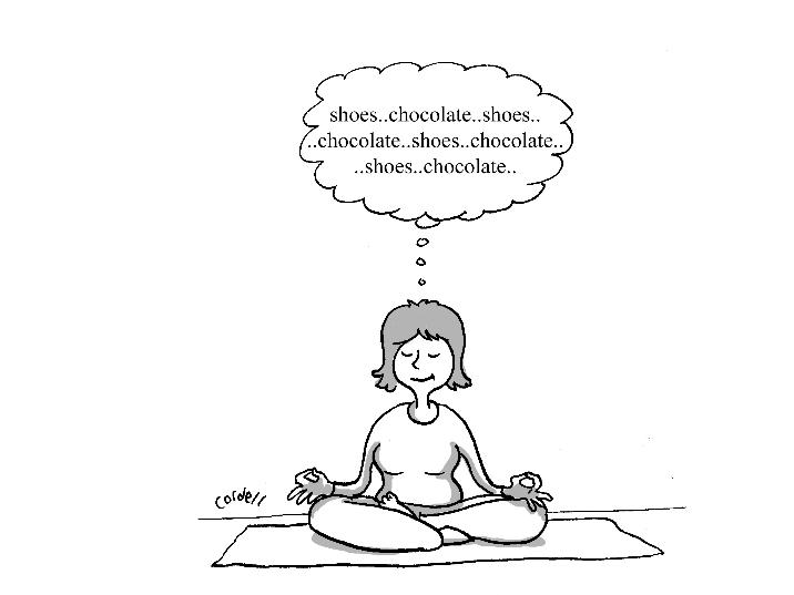 meditate small