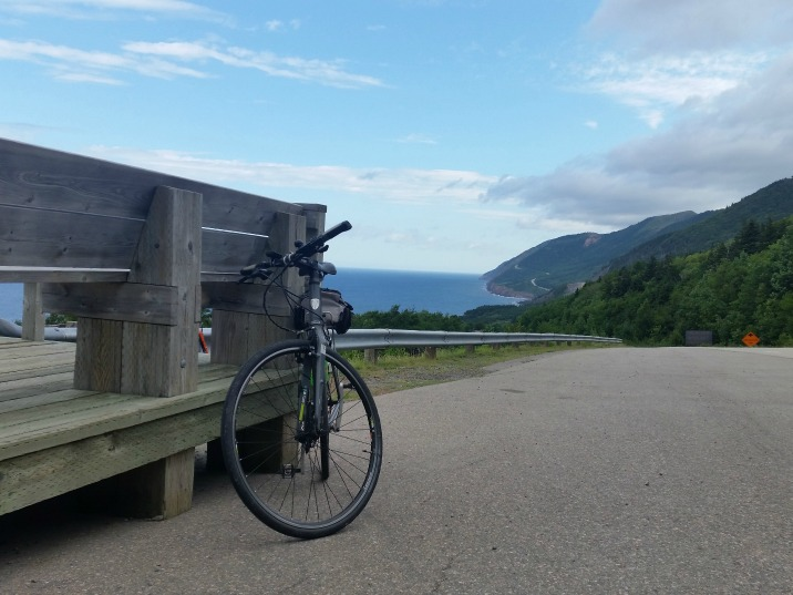 Cabot Trail Biking